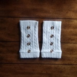 Accessories - NWOT knit ankle warmers